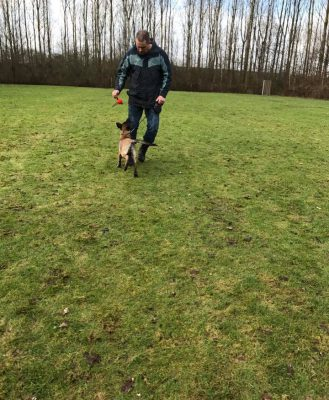 Training_Peter Gommers met Indy