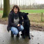 Quirina met haar Hollandse Herder Faith